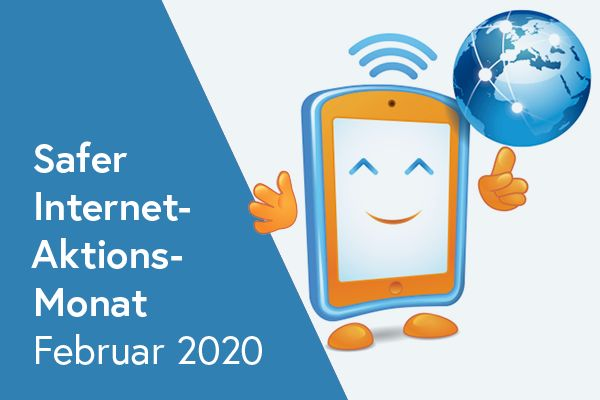 Safer Internet Aktionsmonat Februar 2020